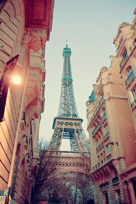 I've got dreams. And one of them is to visit the Eiffel Tower.
