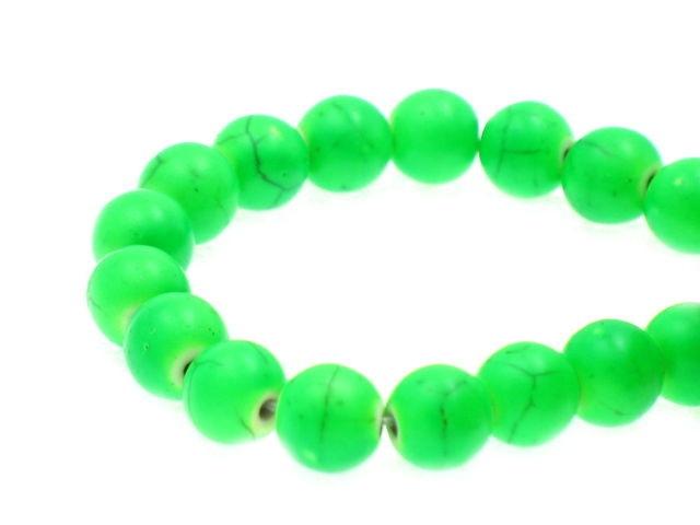 Kamień Turkus Kula Fluorescencyjny Green
