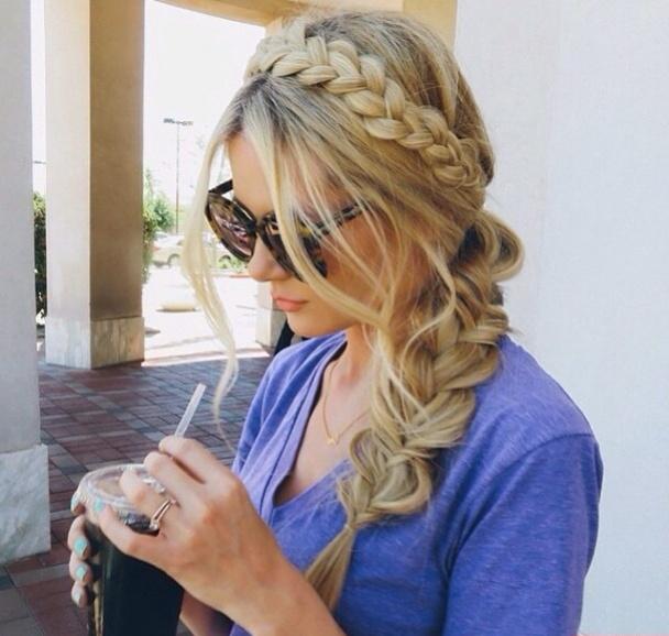 Upięcie Długich Włosów Idealne Na Lato Na Fryzury