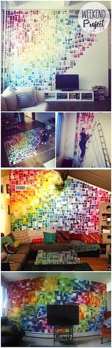 wzorniki kolorów farb- pomysł na wykorzystanie
