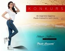 Konkurs. Do wygrania legginsy Paulo Connerti z serii Jeans.