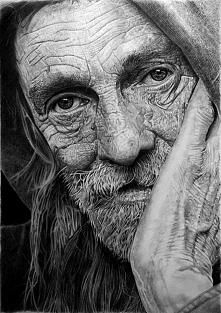 """,,Portret starego człowieka."""" Franco Clun"""