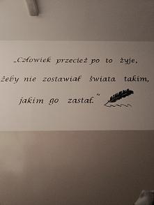 Moja nauczycielka od j. polskiego postanowiła wraz z nauczycielem od plastyki...