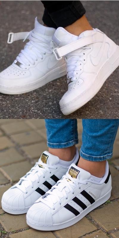 przytulnie świeże outlet na sprzedaż świetne ceny adidas superstar damskie na nodze