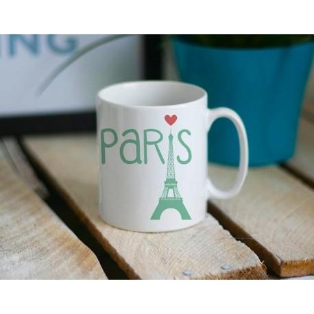 Paryż jest zawsze dobrym pomysłem, ale nie zawsze mamy czas się tam wybrać. Zawsze wtedy można się napić z paryskiego kubka! Mały Paryż dla każdego ;)  littlethings.pl