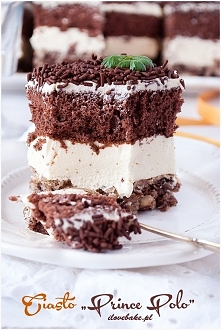 Ciasto Prince polo ilovebake.pl
