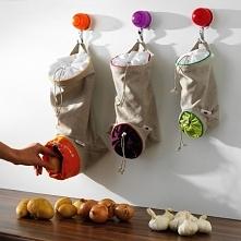 Trzymamy warzywa w workach :)
