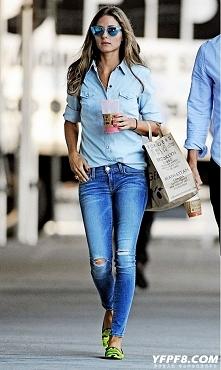street fashion-jeansowo :) ...