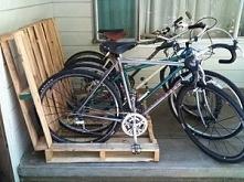 domowy stojak na rowery