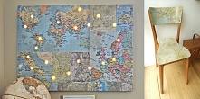 22 pomysły na kreatywne wykorzystanie starych map