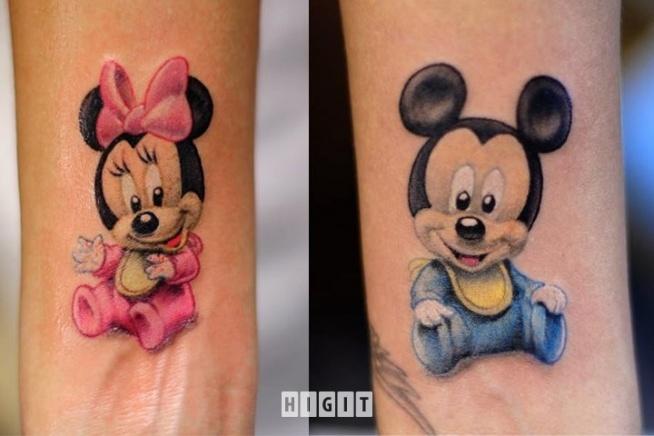 Tatuaże Myszka Miki 3 Na Dziarki 3 Zszywkapl