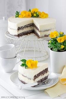 Tort makowo cytrynowy (Przepis po kliknięciu w zdjęcie)