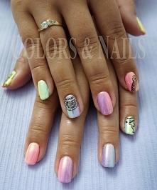 efekt syrenki manicure hybr...