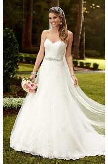 podaj opisStella York Satin A-Line Princess Wedding Dress Style 6133 zszywki