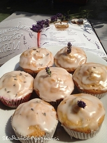 Cudowne muffinki lawendowe ...