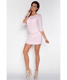 Nasza tunika z łańcuszkiem w odcieniu BABY PINK <3 już dostępna na fobya.com