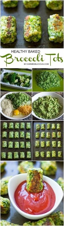 Brokułowa przekąska do sosów