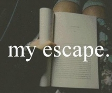 my escape. BOOK.