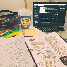 muzyka, kawa i książki <3