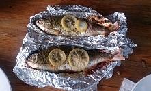 Ryby z grilla - były pyszne