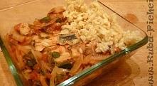 Posiłek biegacza - ryba zapiekana w pomidorach