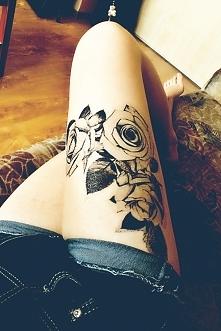 Bo w lato można poszaleć ;) Tatuaż kilkudniowy uważam za jak najbardziej udany pomysł :D