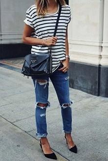 pasy, biel,czerń,jeans