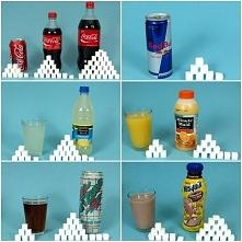 Ilość cukru w napojach