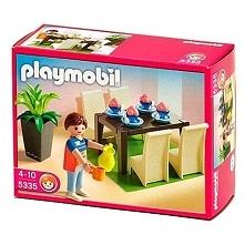 Witajcie, dziś jadalnia  Zestaw Playmobil 5335 dla dzieci od lat 4 - Stylowa ...