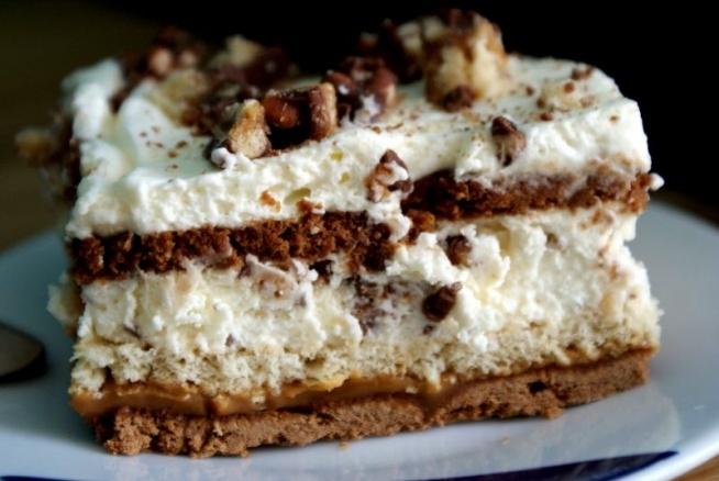 Ciasto LION, szybkie, bez pieczenia :) Przepis w komentarzu - zapraszam! :)