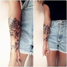 """Moje cudeńko zagojone ! ♡ 4 róże MOJEGO autorstwa pięknie odwzorowane w """"..."""