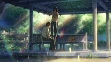 To anime pod tytułem: Kotonoha no Niwa. Jedno z topowych pod względem animacj...