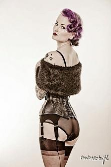 Lady ardzesz corset Greta Vintage Store MUAH: Nina Holy