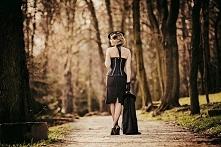 lady in black zdjęcia Karolina Miądowicz photography, współpraca Michał Tokar...