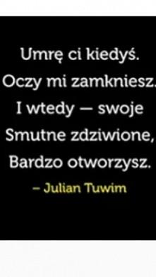 #Tuwim #wiersz
