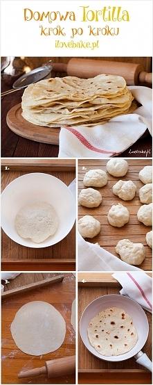 Tortilla przepis. Jak zrobić tortille – krok po kroku