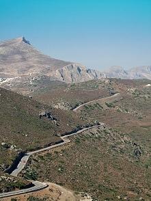 a tak wyglądała nasza trasa przez malownicze, greckie góry