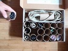 Pomysł na uporządkowanie kabli