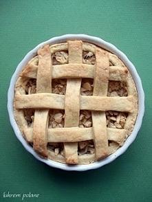 TARTA Z JABŁKAMI  Składniki: - 4 średnie jabłka - 240 g mąki pszennej - 50 g ...