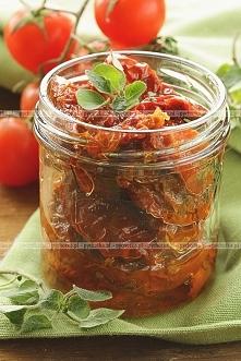 Pomidory z ziołami marynowane
