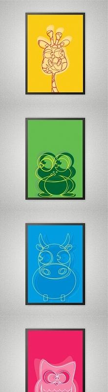 plakat dziecięcy dla rodziców z wyobraźnią :)