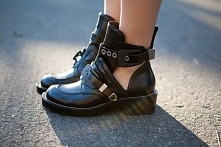 Balenciaga Cutout boots