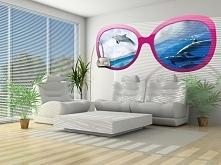 Fototapeta wycinana Consalnet 723 - Delfiny przez różowe okulary