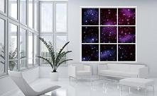 Fototapeta wycinana Consalnet 934 - Gwiazdy imitacja okna