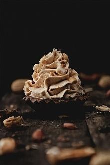 kakaowe babeczki z kremem o...