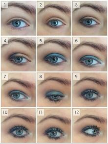 Prosty i szybki makijaz oka . Szczegóły i opis na sann-ann.blogspot.com