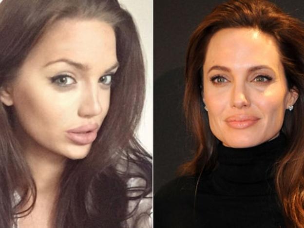 Angelina Jolie & Chelsea Marr