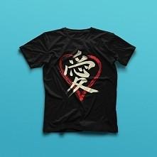 Symbol miłości Kanji.