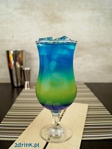 Coco Extazy  Składniki:      30 ml syropu Blue Curacao     40 ml likieru Blue...