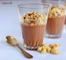 Intensywnie czekoladowy deser FIT Składniki na 4 porcje:      Jogurt naturaln...